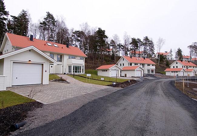 12 hus på Resarö utanför Vaxholm