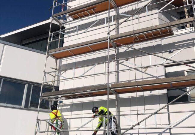 Fasadrenovering Täby