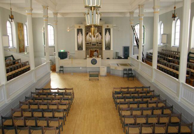 Renovering av Andreaskyrkan i Stockholm
